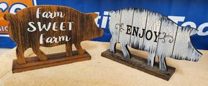 Farm Decor Pig Signs 8.00 ea. for Sale in Knoxville, TN