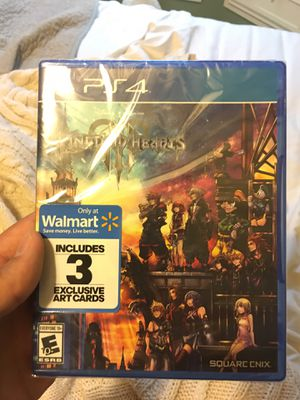 Kingdom Hearts 3 PS4 for Sale in Brentwood, TN