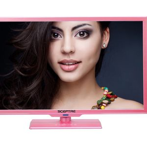 32 Inch TV DVD Player Pink Spectre Swivel W/ Box for Sale in Fort Worth, TX