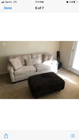Couches and Ottoman for Sale in Decatur, GA