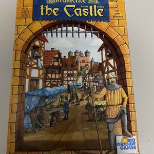 Carcasonne - The castle 2 Player Board Game for Sale in North Las Vegas, NV