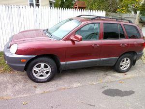 04 Hyundai santa fe 4wd for Sale in Waterbury, CT