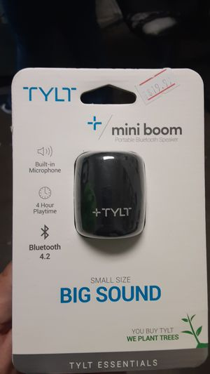 TYLT mini boom speaker for Sale in San Angelo, TX