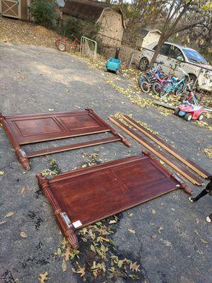 Wooden bed frame for Sale in Nashville, TN