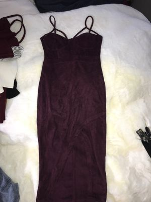 Suede velvet dress for Sale in Compton, CA