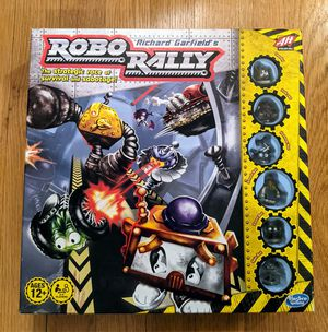 ROBO RALLY by Richard Garfield Hasbro Board Game for Sale in Portland, OR