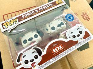 Funko Pop! 2-pack, Disney 101 Dalmatians, Pop in a Box Exclusive! Poncho & Perdita! Brand New! for Sale in New York, NY