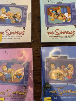 Simpsons DVDs Seasons 1-4 for Sale in Long Beach,  CA