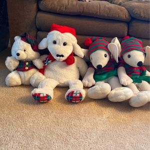 1990 Commonwealth Christmas Teddy Bears for Sale in Lancaster, CA