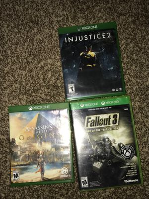 Xbox one games for Sale in Frostproof, FL