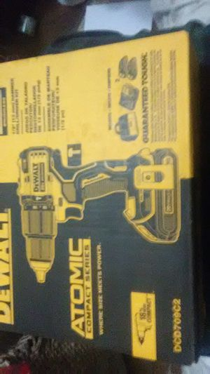 Dewalt hammer drill and kit for Sale in Seattle, WA