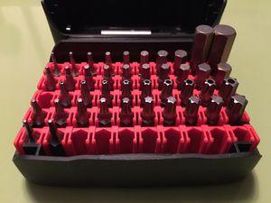 New! PB SWISS Tools 42pc Metric/SAE Hex + Torx + TamperProof Torx Precision Bit Set T5-T40 1.27mm-10mm for Sale in Gardena, CA