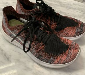 Nike Free RN Flyknit Running Shoes Black Pink Women's Size 8 1/2 for Sale in Monroe, WA