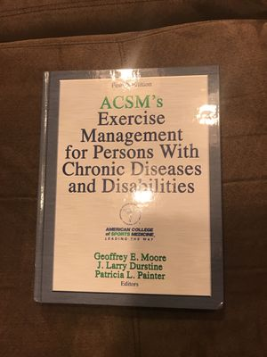 acsms exercise management for persons with chronic diseases and disabilities4th edition