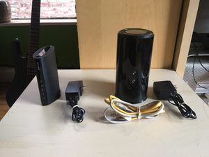 TP-Link modem + D Link wifi router + 2 ethernet cables for Sale for sale  New York, NY