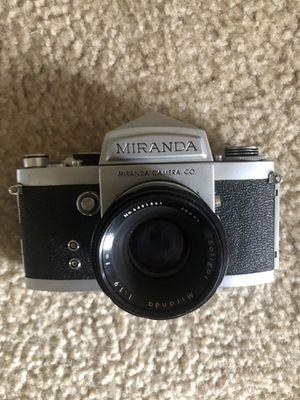 Miranda Film co camera. 35mm film Camera for Sale in Cockeysville, MD