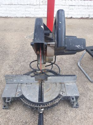 Black and decker miter saw for Sale in Grand Prairie, TX