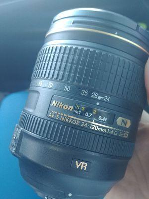 Nikon 24-120 mm Lense for Sale in Garden Grove, CA