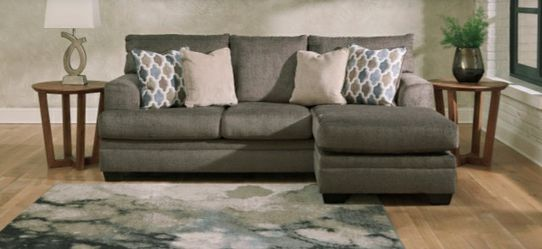 Ashley Sofa Chaise 💙🦋💕no credit check🥰🌷finance Available for Sale in Houston,  TX