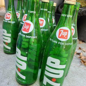Vintage 7 Up Bottles for Sale in San Diego, CA