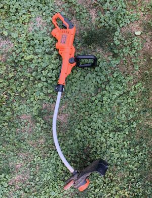 BLACK + Decker Automatic Feed Spool Wired Corded Trimmer | Weed Wacker for Sale in Rosedale, MD