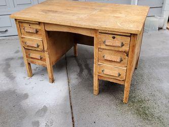 Oak Desk for Sale in Beaverton,  OR