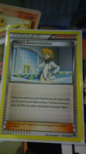Pokemon cards- trainer Misty card for Sale in San Diego, CA