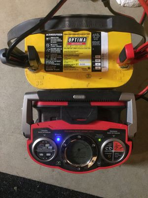 Optima Battery D35 Yellow Top for Sale in Federal Way, WA