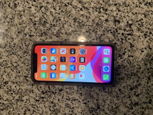 iPhone X Unlocked 64 gigs for Sale in Atlanta, GA