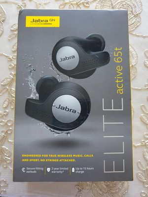 Jabra Elite Active 65t Wireless Earbuds - Black for Sale in Worth, IL
