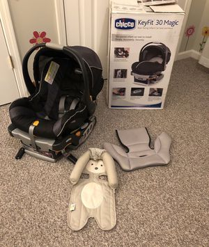 Chicco Keyfit Infant Car Seat, Excellent Condition for Sale in Lexington, KY