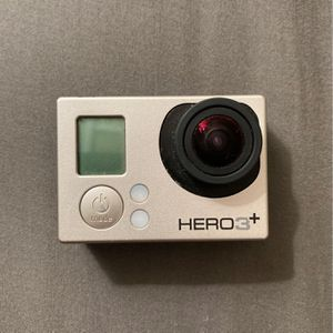 Go Pro Hero 3+ Silver Edition for Sale in Babylon, NY