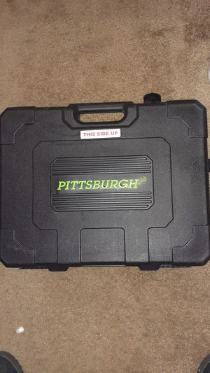 Pittsburgh machanics tools kit 225 pc for Sale in Eugene, OR