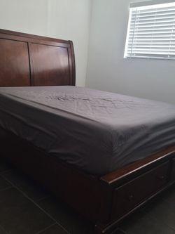 "Queen Bed Frame, H57"" x L88"" x W66"" Needs To Go for Sale in Newport Beach,  CA"