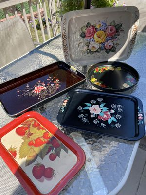 Vintage trays for Sale in Hanover, PA
