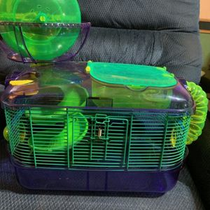 Critter Nation Hamster Cage And Excercise Attachment for Sale in West Columbia, SC
