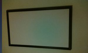 """Fixed 90"""" projector screen for Sale in Woburn, MA"""