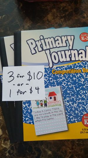 3 for $10 / 1 for $4 Primary Journal Composition Books for Sale in Mesquite, TX