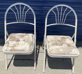 TWO LIKE NEW VERY STURDY FOLDING CHAIRS THAT WERE PART OF A $130K MOTORHOME ALSO ADVERTISED HERE. $19.96 EACH for Sale in San Diego,  CA