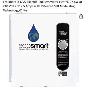 Eco Smart Electrical Water Heater 27 KW! for Sale in Miami, FL