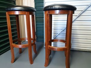 3FT Wooden Stools, 40 OBO for Sale in Orlando, FL