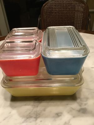 Vintage Pyrex Primary Colors for Sale in Bellevue, WA