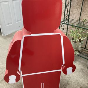 Giant Lego Red Character for Sale in Rosemead, CA