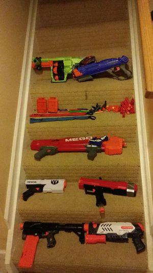 Nerf guns lot for Sale in Herndon, VA