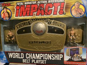 WWE TNA NWA World Championship Belt Playset for Sale in Milpitas, CA