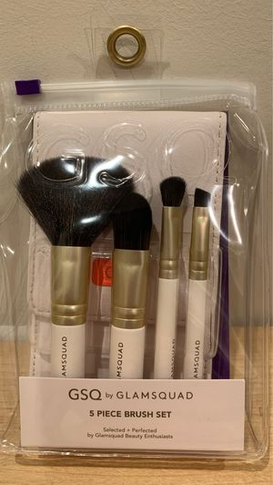 GSQ 5-piece makeup brush set for Sale in Alexandria, VA
