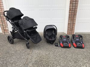 City Select Stroller Car Seat Travel System with Extras for Sale in Marysville, WA