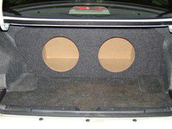 Subwoofer box for Honda Accord 1998-2002