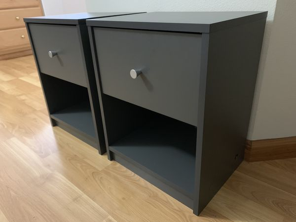 Pair of nightstands / night stand / side table - like new