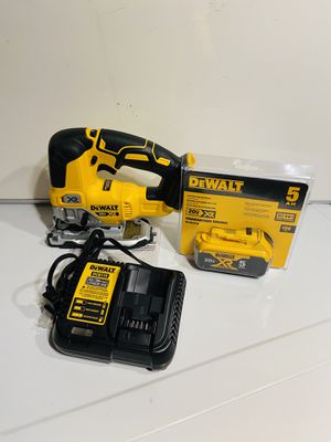 Dewalt 20V XR Jigsaw cordless kit for Sale in Atlanta, GA